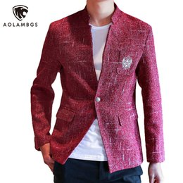Discount Red Blazer Gold Buttons | 2017 Red Blazer Gold Buttons on ...
