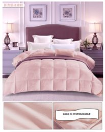 a luxury queen size alternative 100 down comforter 100 u0026 allergy free 4 pounds 70oz with corner tabs