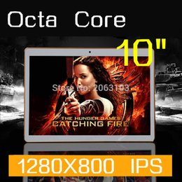 Ips Phone Call Australia - Wholesale- New 10 inch Original Design 3G Phone Call Android 5.1 Octa Core IPS pc Tablet WiFi 4G+128G 7 8 9 10 android tablet pc 4GB 128GB
