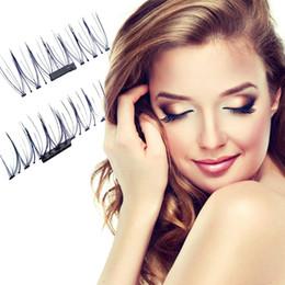 Super hair extenSionS online shopping - 3D Magnet eyelashes Handmade Magnetic lashes False Eye Lashes Extension Makeup Super Natural Long Fake Eyelashes