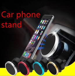 magnet air Australia - Car Mount Air Vent Magnetic Universal Car Mount Phone Holder for iPhone X 8 7 Plus One Step Mounting Reinforced Magnet Easier Safer Driving