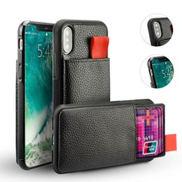 Black Blocks Australia - For iPhone 7 Case Shockproof Leather Pouch Credit Card Holder Pocket TPU RFID Blocking Cases For iphone 8 7 6 Plus Cover