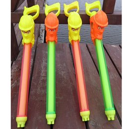 gun animals Canada - Water rafting water cannon needle double pull type air pressure large summer beach toys for children