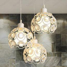 $enCountryForm.capitalKeyWord Canada - nimi144 Creative Personality Art Modern Simple LED Aisle Bar Restaurant Dinning Room Light Crystal Chandelier Round Pendant Lamps Lighting