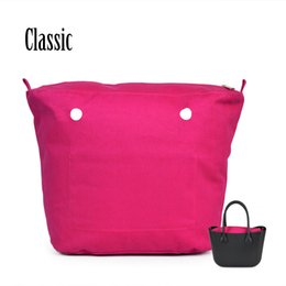 $enCountryForm.capitalKeyWord Canada - Wholesale-1 Piece New solid waterproof Obag O bagInsert Lining Inner Pocket for Classic Big Obag O Bag Women's Should Bags Totes Handbags