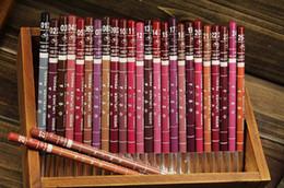$enCountryForm.capitalKeyWord Canada - 600pcs Universal Professional Lipliner Pencil Waterproof Wooden Blend Lip Liner Pencil 15CM 12 Colors Per Set Hot Makeup Lipstick Tool