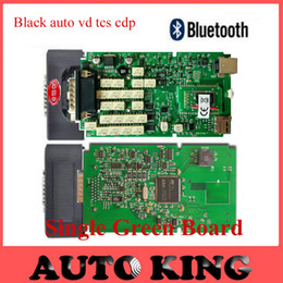Cdp Pro For Cars NZ - Wholesale- 5pcs+DHL Free ship ! Single Green PCB board for black OBD CDP+ cdp Pro with Bluetooth function on cars Trucks Diagnostic tool