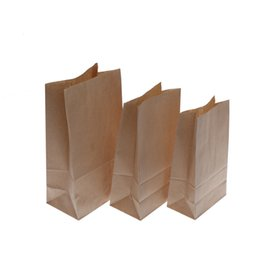 candy kraft bags UK - Kraft Paper Bags Wedding Party Favor Treat Candy Buffet Bag Envelope Gift Wrap 10 Pcs