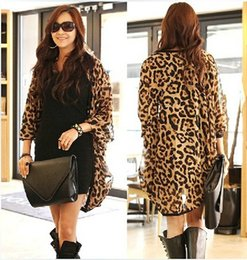 $enCountryForm.capitalKeyWord Canada - 2017 New Western Girl Women Leopard Batwing Sleeve Ponchos Blouse for Women Lady girls Shirts Clothing