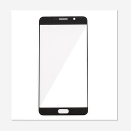Chinese  Grade AAA No Air Bubble No Scratch Front Outer Glass Lens Screen Digitizer For Samsung Galaxy s3 s4 s5 s6 note 2 3 4 black white color manufacturers