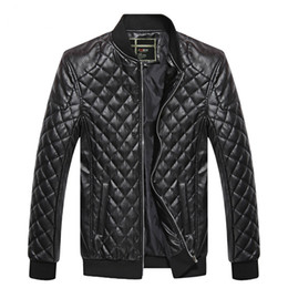 China Brand Men Jacket PU Leather Coats Bikers Motorcycle Jackets Autumn Spring Clothes Outwear Overcoat Boy Tops Large Size 3XL Black cheap top motorcycle jacket brands suppliers