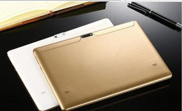 Gold Tablet Gps Australia - For Russian customer Russian menu tablet PC 3G network built in 16gb rom