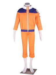 Chinese  Naruto Uzumaki Cosplay Costume Naruto Outfit manufacturers