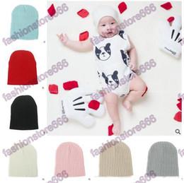 $enCountryForm.capitalKeyWord NZ - Baby Hats Baby Cap For Winter Warm Newborn Knitted Cap Crochet Children Beanies Hats Headwear Caps Accessories Best Gift Free Shipping