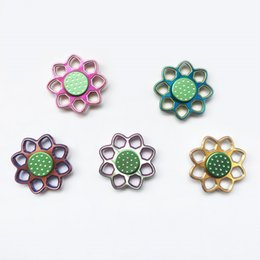 Shop big lotus flower uk big lotus flower free delivery to uk new arrival fidget spinners hand spinner aluminum alloy lotus flower finger toy gyro decompression toys bayblade handspinner in metal tin 60 mightylinksfo