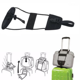 Wholesale Add A Bag Strap Travel Luggage Suitcase Adjustable Belt Carry On Bungee Strap Adjustable Travel Luggage Suitcase Belt CCA6796