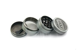 Cigarettes Usa Wholesale NZ - free shipping USA netherland 40MM Zinc Alloy Hand Crank Herb Spice mill Crusher cigarette hand Muller Tobacco Grinder 4 layers Amsterdam