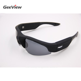 Rock Sunglasses Canada - Wholesale- Full HD 1080P Action Sunglasses Camera Daily Waterproof Sun Glasses Camera Noise Canceling Lightweight UV400 Protection Camera
