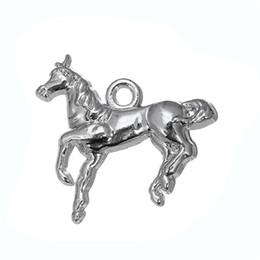 Wholesale Charms Australia - Vintage Metal Horse & Horse Head & Pet Dog Animals Charms Zinc Alloy Charms For Diy Necklaces Bracelets Making