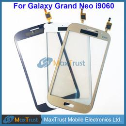 "$enCountryForm.capitalKeyWord UK - Original IC 5.0"" For Samsung Galaxy Grand Neo i9060 Touch Screen Digitizer Front Glass Lens Sensor Black White Gold Color"