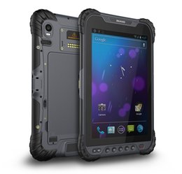 Chinese  8 inch portable rugged android 7.1, 4G LTE RFID tablet, 8400mah Battery tough PAD manufacturers