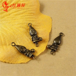 $enCountryForm.capitalKeyWord Canada - 19*8MM Antique Bronze Little Red Riding Hood charm for bracelet, vintage metal dangle fairy tale pendants for necklace alloy jewelry making