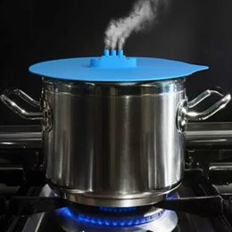 Lid pan online shopping - Creative Steam Ship Steaming Lid Universal Silicone Pot Cover Pan Cooking Tool Pan Lid Boil Over Spill Stopper Cover Safe Kitchen Tool