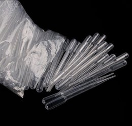 graduated plastic NZ - fast shipping! 10000pcs 1ML 2ML 3ML Pipettes Disposable Plastic Graduated Pasteur Pipette Dropper Polyethylene 0.2 0.5ml available