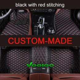Vente en gros Tapis de sol pour voiture Veeleo Custom-Fit 6 couleurs pour Tesla modèle 3 modèle S imperméable anti-dérapant ensemble complet tapis de voiture tapis 3D tapis