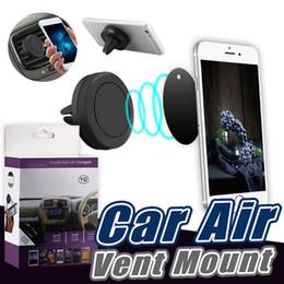Автомобильный держатель вентиляционное отверстие магнитный автомобильный держатель для телефонов GPS вентиляционное отверстие приборной панели автомобиля держатель с розничной коробке
