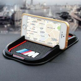 Anti-slip Car Phone Mat GPS support Sticker for BMW M M3 M5 M6 E30 E34 F10 F15 F30 X1 X3 X5 X6 E36 on Sale