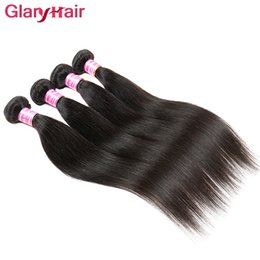 Discount best cheap peruvian hair - Best Sale Wholesale Cheap Brazilian Hair Bundles Silky Straight Weave Peruvian Remy Cheap Straight Human Hair Bundles 4