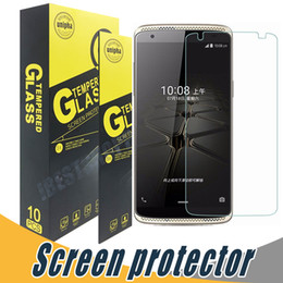 Tempered glass grand online shopping - Tempered Glass For ZTE Warp Screen Protector Explosion Shatter H D For ZTE Zmax Grand X3 Z667 Warp Elite Maven Zephyr Z820 Q505T