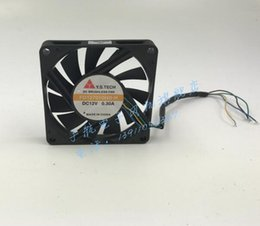 H Case Australia - New Y.S.TECH FD127010HB-H 12V 7010 0.3A 70*70*10MM four wire speed fan CPU fan
