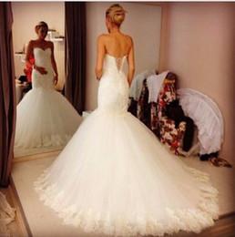 $enCountryForm.capitalKeyWord Canada - Elegant Chapel Train Bohemian Beach Wedding Dresses Sweetheart Plus Size Lace Up 2019 Plus Size Bridal Gown For Garden Country Wedding Cheap