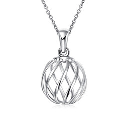 $enCountryForm.capitalKeyWord UK - best gift Twisted lanterns sterling silver plated jewelry necklace for women WN716,nice 925 silver Pendant Necklaces with chain