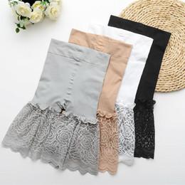 $enCountryForm.capitalKeyWord NZ - lady lace short women sexy summer shorts fashion stretch capris girl black white khaki gray sexy transparent shorts