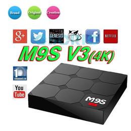 M8s Android Tv Boxes Australia - 2018 Factory Sale M9S V3 Smart Android 6.0 TV Box Rockchip RK3229 Quad Core Google Set Top Box better MXQ T95X M8S Z8