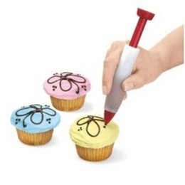 Decoration pen cake online shopping - Dessert Decorator Pen Pastry Icing Cream Cupcake Baking Cake Jam Pie Chocolate Biscuit Decoration Pens Tool Hot Sale hd F