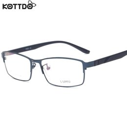 $enCountryForm.capitalKeyWord Canada - Wholesale- KOTTDO Brand Design Titanium Alloy Eyeglass Male Myopia Glasses Spectacle Frames for Men Anti Blue Ray Computer Glasses TY018