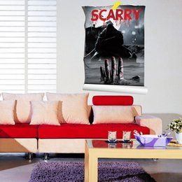 $enCountryForm.capitalKeyWord Canada - 3043 Scary Bloody Zombie Red Hand Window Wall Bumper Decal Vinyl Sticker as living room Home Decor Free shipping