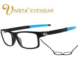 fadac41d28 Korean Eyeglasses Frames Canada - Wholesale- IVSTA Korean Brand TR90 Men  Cyele Eyeglasses Frame Flexbile