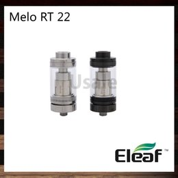 ElEaf airflow tank online shopping - Eleaf Melo RT Atomizer ml Innovative Retractable Top Filling Tank ER Coil Heads Knurled Airflow Control Ring Original