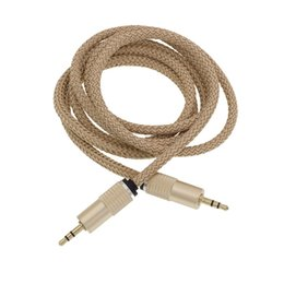 Rca speakeR extension cable online shopping - Aux Cable Auxiliary Cable mm Male to Male Hemp Rope Audio Cable M Car Extension Cable for Digital Device up