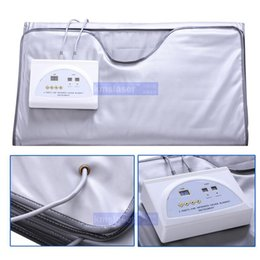 infrared heat weight loss 2019 - FIR Far Infrared Sauna Blanket Weight Loss Body Slimming Blanket Infrared Ray Heat SPA WEIGHT LOSS therapy detox machine