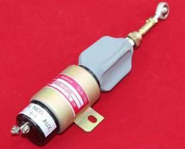 Válvulas de solenoide de protección de venta al por mayor de alta calidad de 12vdc o 24vdc con válvula de solenoide para motor