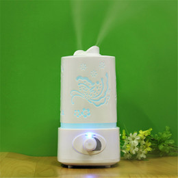 Chinese  Home Office Large Capacity Anion Ultrasonic Air Humidifier with 7 Colors LED Light Aromatherapy Mist Maker 1.5L manufacturers