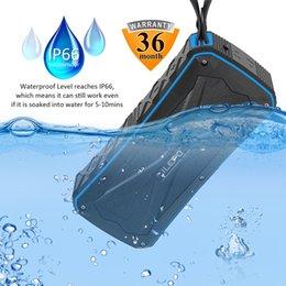 Discount powered floor standing speakers IP66 Waterproof Speakers Bluetooth Retail Bluetooth Speakers Wholesale Outdoor Portable Wireless Speakers 4500mAh li-bat
