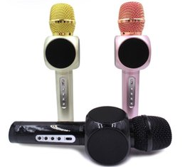 Best Quality Player Canada - Best Sound E103 design karaoke microphones speaker magic microphone HANDLED MIC best quality singing songs conference player promotion