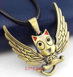 Japanese Fashion Cartoon Canada - New 1 pcs Cartoon Japanese anime Fairy Tail Fashion Pendant Necklace For Men Y--9